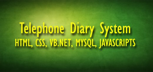 Telephone Diary System