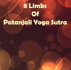 8 Limbs of Patanjali Yoga Sutra