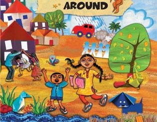 Download NCERT Books For Class 5 Free PDF, ganit ka jaadu, math magic, marigold, english raindrops, hindi rimjhim, ncert books for all classes, Environmental Studies Aas Paas, Environmental Studies Looking Around